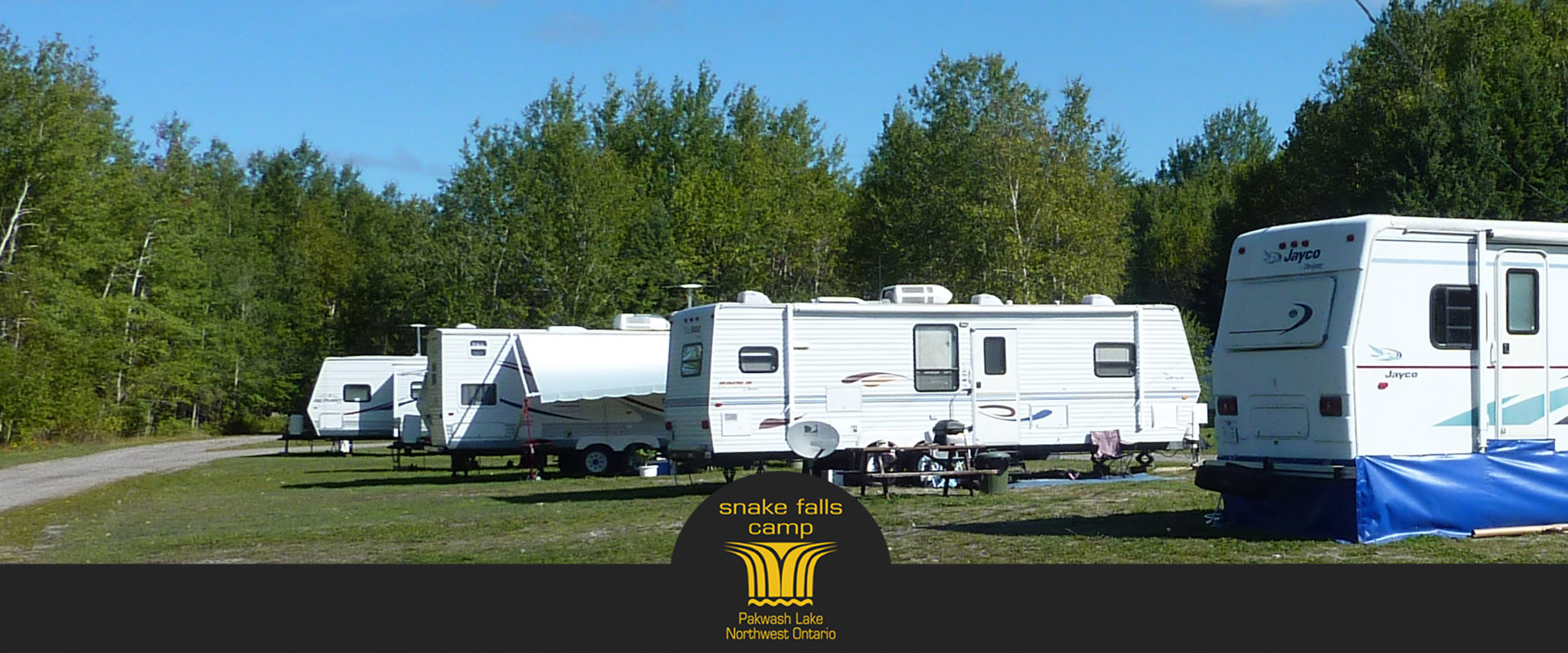 Fully Serviced RV Sites